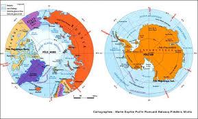Pôle Nord et Pôle Sud