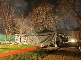 2 - La tente béouine de Muammar Gaddhafi à Paris, Décembre 2007