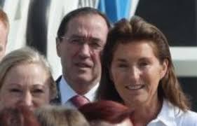 9 - Cecilia Sarkozy, Claude Guéant, Benita Ferrero-Waldner, en Libye, 2007