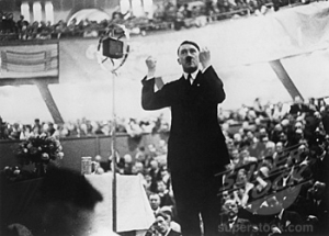 Adolf Hitler, Sportpalast, Berlin, Germany, September 14, 1930