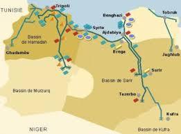 La GRA (Grande Rivière Artificielle) Libye