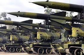 Missiles sur leurs lanceurs...