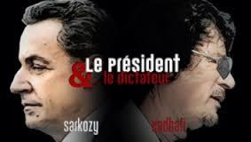 Sarkozy Kadhafi