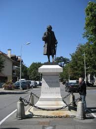 Statue de Voltaire à Ferney-Voltaire