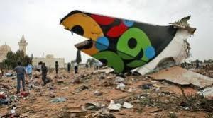 XIV 6 - Explosion de l'Airbus A330-200 de la Cie Afriqiyah Airways, en Libye, 12 mai 2010, 104 personnes sont mortes