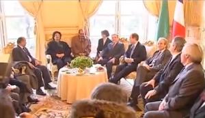 XVII 1 - A l'Hôtel de Lassay, rencontre avec qqs parlementaires UMP ; les autres ont failli à leur tâche. Décembre 2007