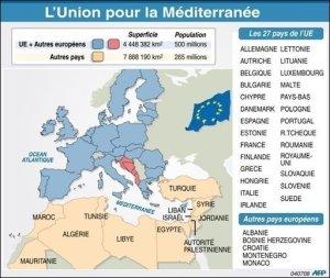 XVIIII 3 - Voici l'UPM que Nicolas Sarkozy et sa clique voulait imposer à l'Afrique et aux pays arabes, en 2008