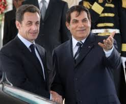 XXI 3 - Nicolas Sarkozy et Zine el-Abidine Ben Ali, jlt 2008 ; complot contre la Tunisie et son président en janvier 2011