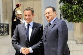 XXI 4 - Nicolas Sarkozy et Hosni Moubarak ; complot contre l'Egypte et son président, fév 2011