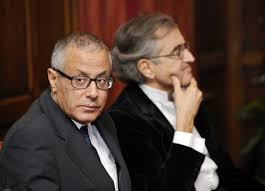 XXV 1 - Ali Zeidan et Bernard-Henri Lévy ; derrière chaque membre du CNT, le sioniste manigance, 2011