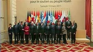 XXVIII 1 - Le Sommet de Paris, 19 mars 2011... alors que les 1ères frappes françaises touchent le peuple libyen.