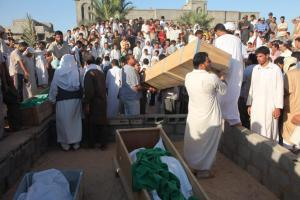 XXVIIII 1 - Village de Majer (Libye), 34 victimes dans 2 bâtiments d'habitations visés par l'Otan, 8 août 2011