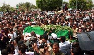XXVIIIII 5 - Seïf al-Arab Al Gaddhafi tué avec 3 neveux et nièce, des amis, des voisins, nuit du 29 au 30 avril 2011.