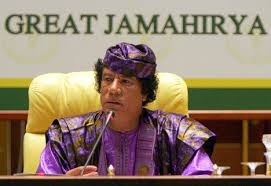 XXXII 1 - Muammar Gaddhafi, la GJALPS, les Etats-Unis d'Afrique