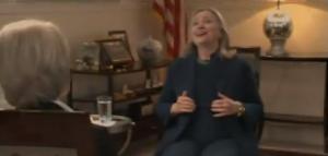XXXIII 4 - Hillary Clinton, en riant de la mort de M. Gaddhafi, voudrait oublier sa honte