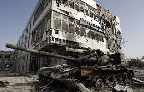 XXXVI 2 - Hôpital en ruines, Misrata (Libye)