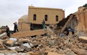XXXVI 3 - Ruines d'une église copte, Misrata (à 200 km de Tripoli, Libye, 31 Décembre 2012
