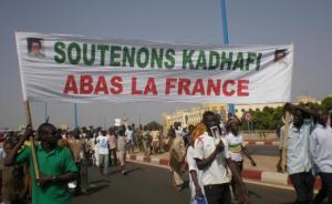 XXXVII 2 - Manifestation à Bamako (Mali), Ve 28 mars 2011