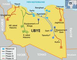 III 2 - 1 La GRA (Grande Rivière Artificielle) en Libye