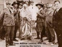 III 9 - Omar Al Mokhtar, arrêté, jugé sommairement et pendu le 16 septembre 1931