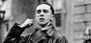Joseph Goebbels, German politician and Reich Minister of Propaganda in Nazi Germany from 1933 to 1945 World History Archive Joseph Goebbels (1897–1945)