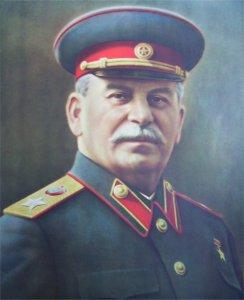 Staline portrait