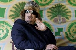 7 - Muammar Gaddhafi à Bab al-Azizia - 5 mars 2011