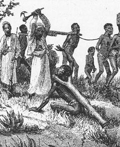 3 - La traite des Noir(e)s - marche forcée ou mort violente